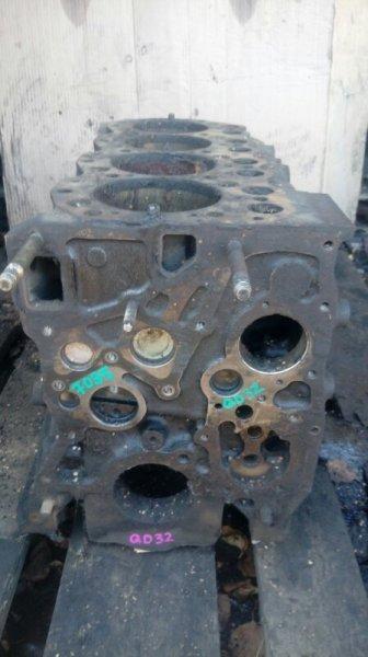 Блок двигателя Nissan Atlas QD32