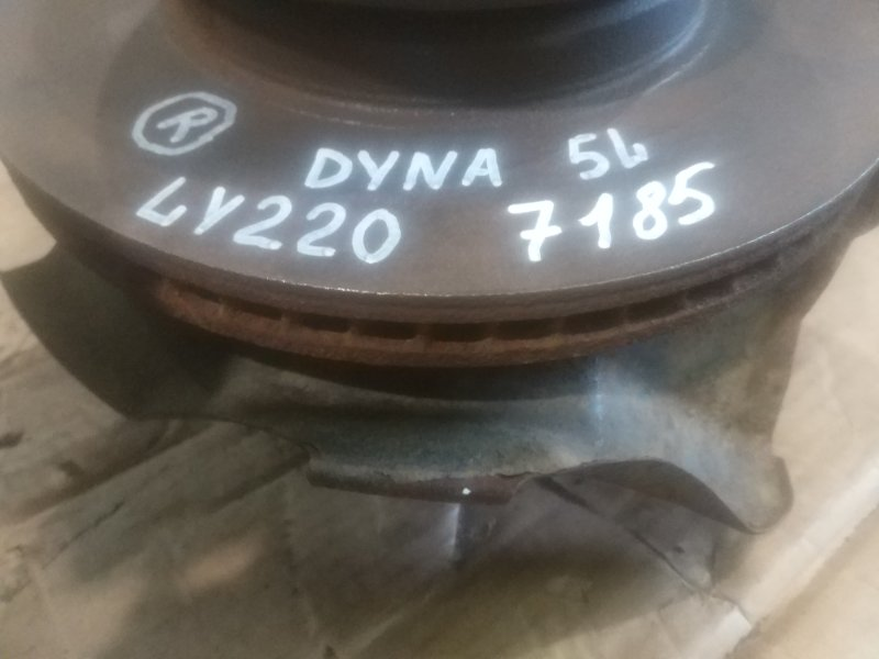 Тормозной диск Toyota Dyna LY230 5L