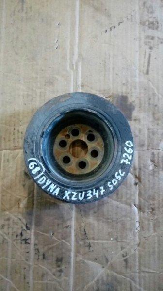 Шкив коленвала Toyota Dyna XZU347 S05C 2003