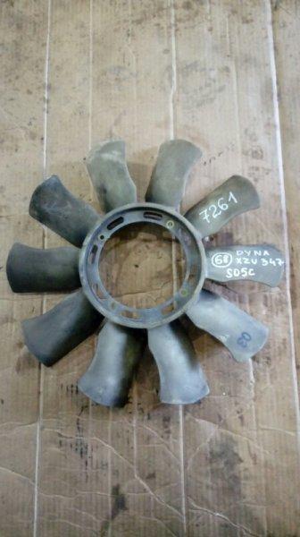 Вентилятор (крыльчатка) Toyota Dyna XZU347 S05C 2003