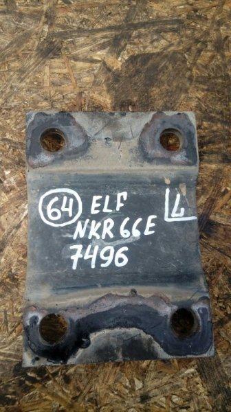 Опора рессоры Isuzu Elf NKR66E 4HF1 1998 задняя левая