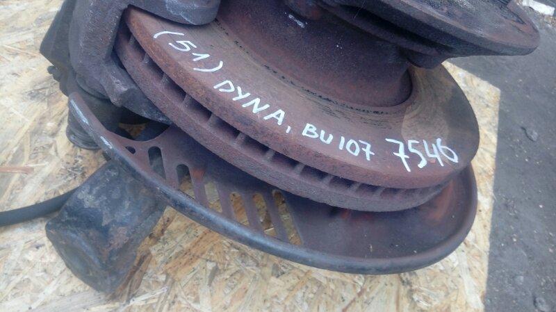 Тормозной диск Toyota Dyna BU107 15B 1996