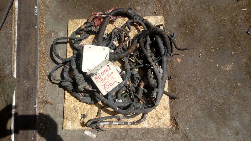 Проводка (коса) моторного отсека Toyota Dyna BU107 15B 1996