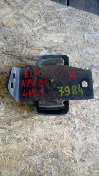 Подушка двигателя Isuzu Elf NPR81AN 4HL1 2006 правая