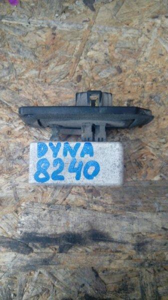 Реостат печки Toyota Dyna BU107 15B левый