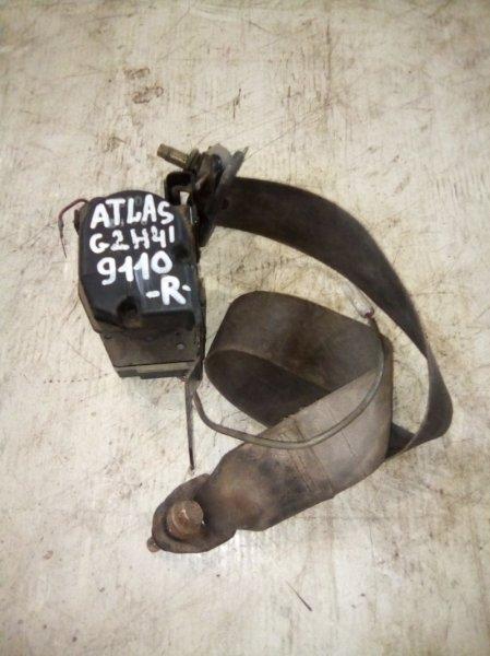 Ремень безопасности Nissan Atlas G2H41 правый