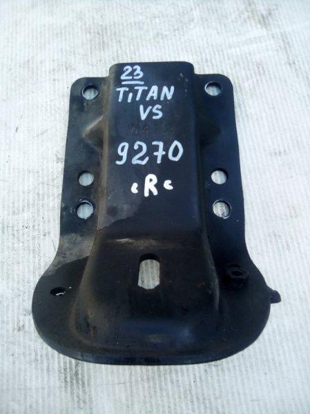 Крепление двигателя Mazda Titan WGSAT VS 1998 правое