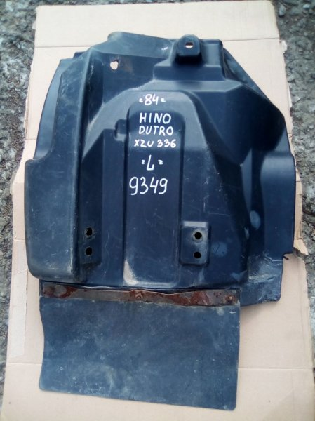 Крыло Hino Dutro XZU336 S05D 2005 переднее левое