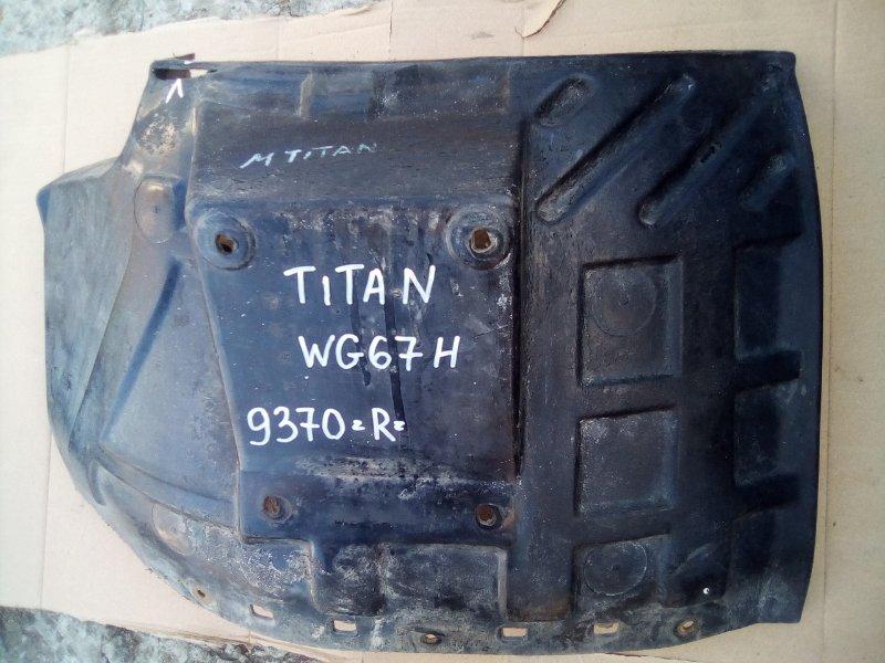 Крыло Mazda Titan WG67H переднее правое