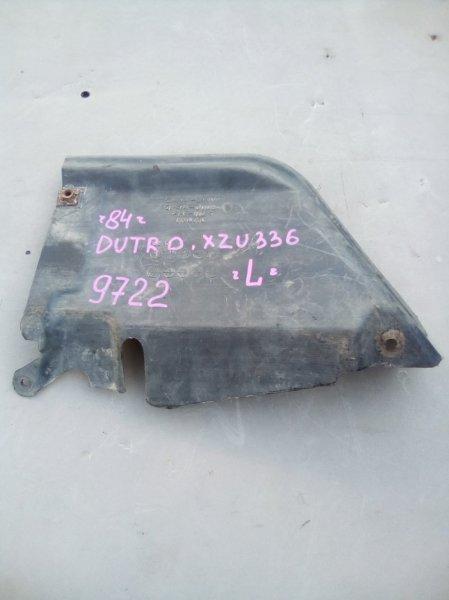 Защита двигателя Hino Dutro XZU336 S05D 2005 левая