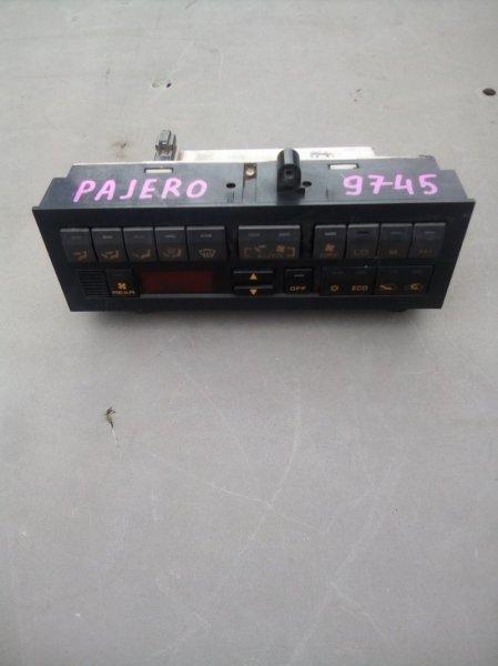 Управление печкой Mitsubishi Pajero W43 6G72 1994