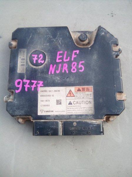 Блок управления Isuzu Elf NJR85 4JJ1 2009