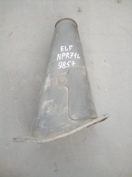 Защита (напольный кожух) рулевой колонки Isuzu Elf NPR71L 4HG1 нижняя