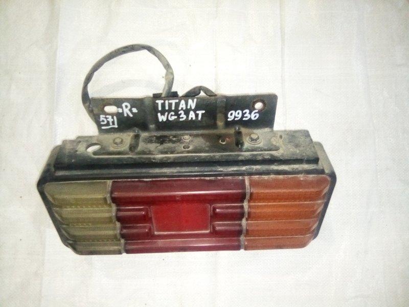 Стоп сигнал Mazda Titan WG3AT 4HF1 2000 задний правый