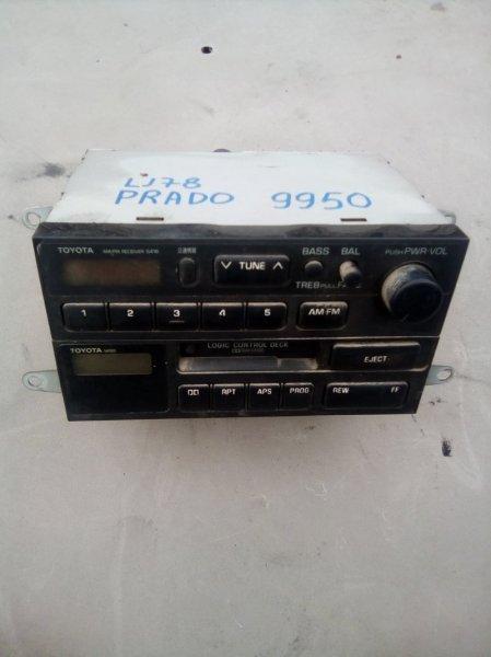 Магнитофон Toyota Land Cruiser Prado LJ78 2LT