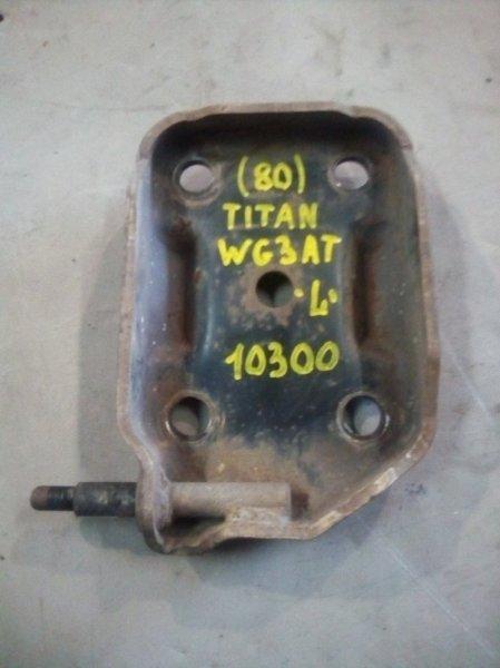 Крепление амортизатора Mazda Titan WG3AT 4HF1 1996 заднее левое