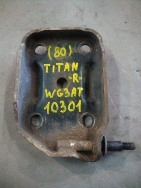 Крепление амортизатора Mazda Titan WG3AT 4HF1 1996 заднее правое