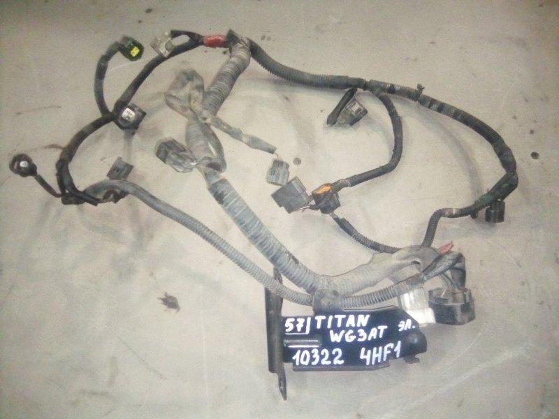 Проводка двигателя Mazda Titan WG3AT 4HF1 2000