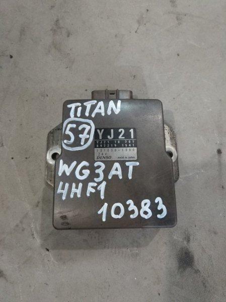 Блок управления топливным насосом Mazda Titan WG3AT 4HF1 2000