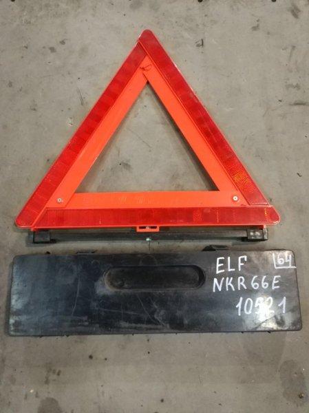 Знак аварийный Isuzu Elf NKR66E 4HF1 1998