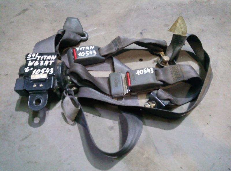 Ремень безопасности Mazda Titan WG3AT 4HF1 2000 левый