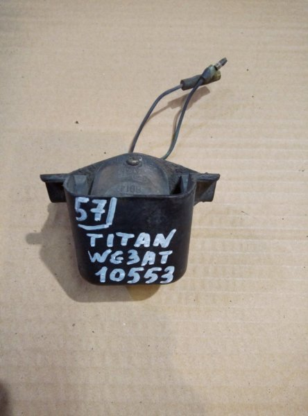 Подсветка номера Mazda Titan WG3AT 4HF1 2000
