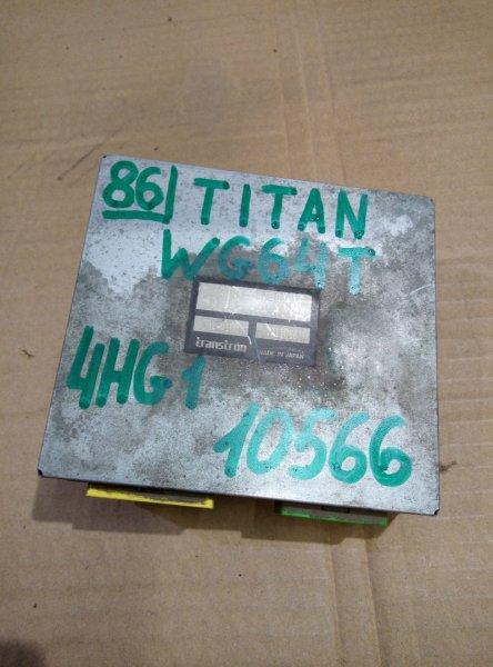 Блок управления двс (компьютер) Mazda Titan WG64T 4HG1 1998