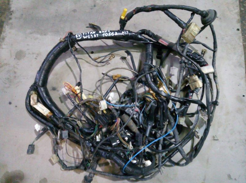 Проводка кабины Mazda Titan WG3AT 4HF1 2000