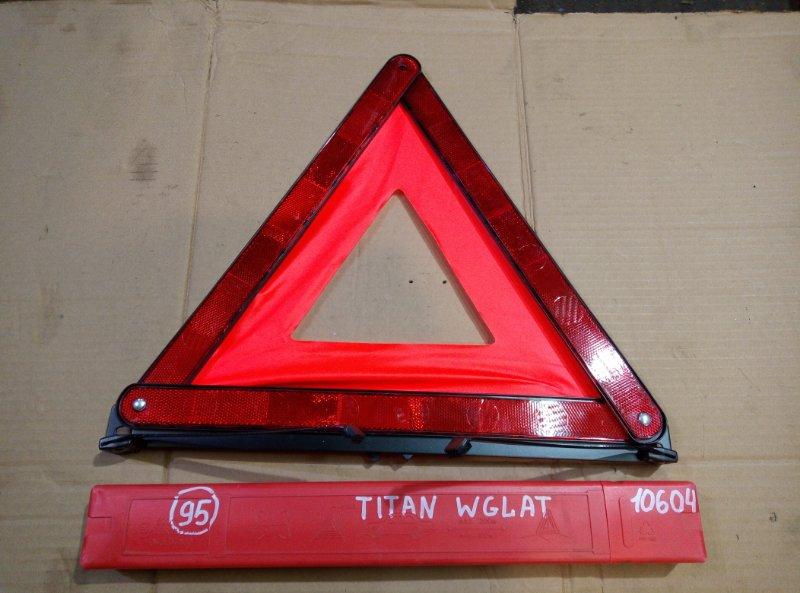 Знак аварийный Mazda Titan WGLAT SL 1994
