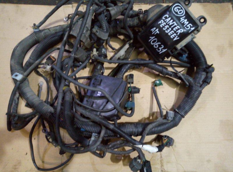 Проводка (коса) моторного отсека Mitsubishi Canter FE53EEV 4M51 2002