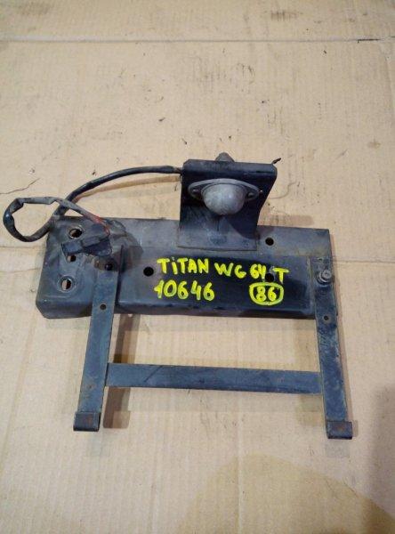 Подсветка номера Mazda Titan WG64T 4HG1 1998