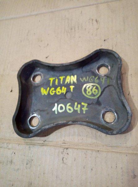 Опора рессоры Mazda Titan WG64T 4HG1 1998