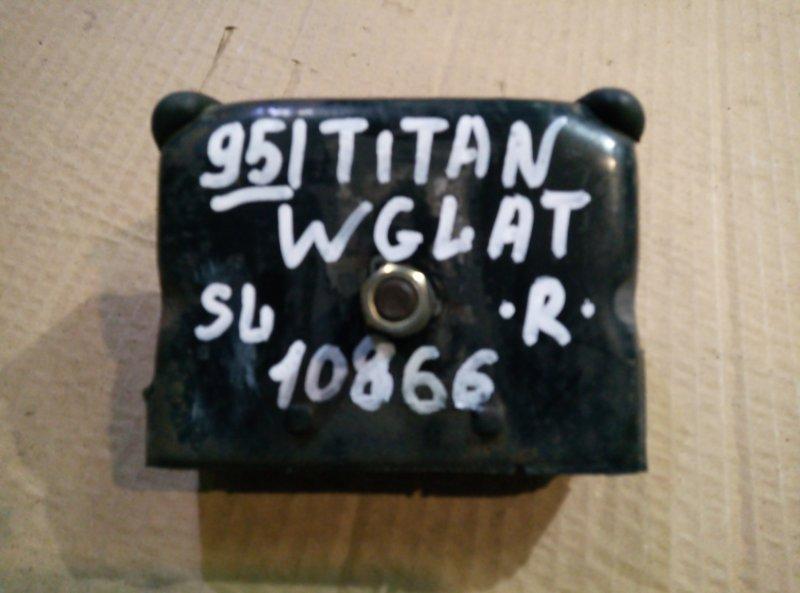 Подушка двигателя Mazda Titan WGLAT SL 1994 правая