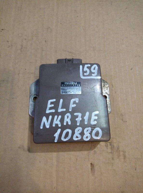 Блок управления топливным насосом Isuzu Elf NKR71E 4HG1 2000