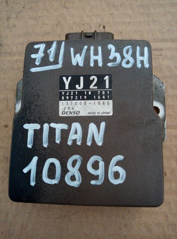 Блок управления топливным насосом Mazda Titan WH38H 4HF1 2001