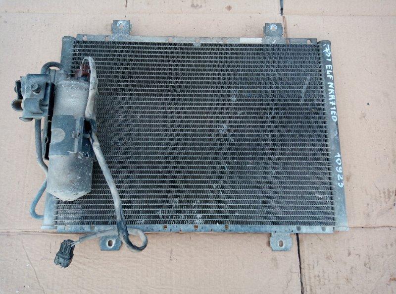 Радиатор кондиционера Isuzu Elf NKR71ED 4HG1 2000