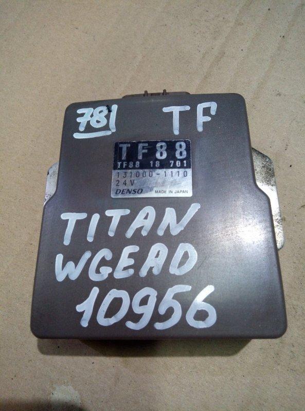 Блок управления топливным насосом Mazda Titan WGEAD TF 2000