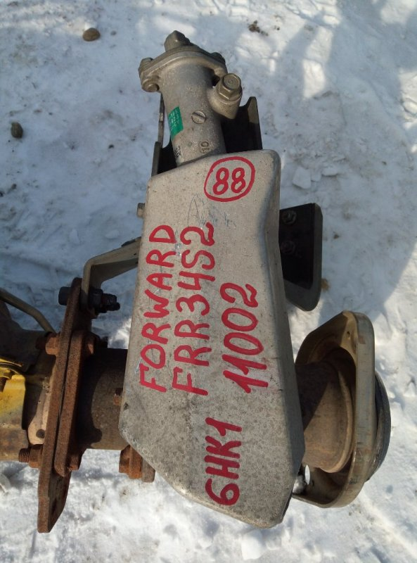 Горный тормоз Isuzu Forward FRR34S2 6HK1 2010