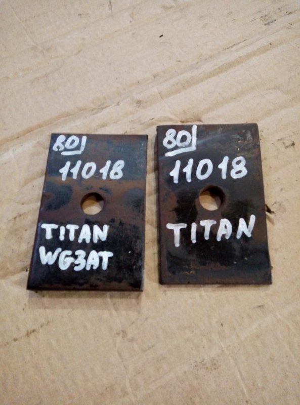 Проставка рессоры Mazda Titan WG3AT 4HF1 1996