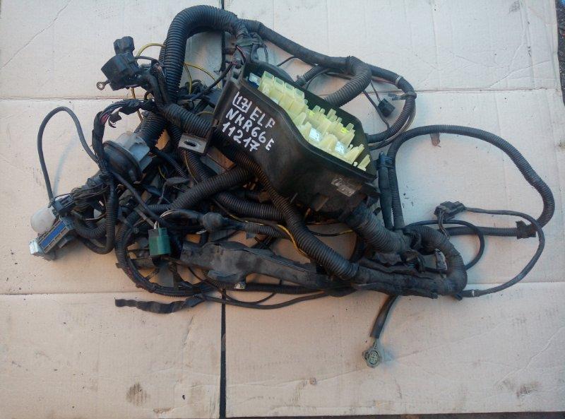 Проводка (коса) моторного отсека Isuzu Elf NKR66E 4HF1 2000