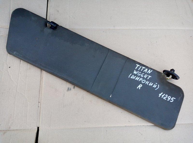 Козырек солнцезащитный Mazda Titan WG64T 4HG1 1998 правый