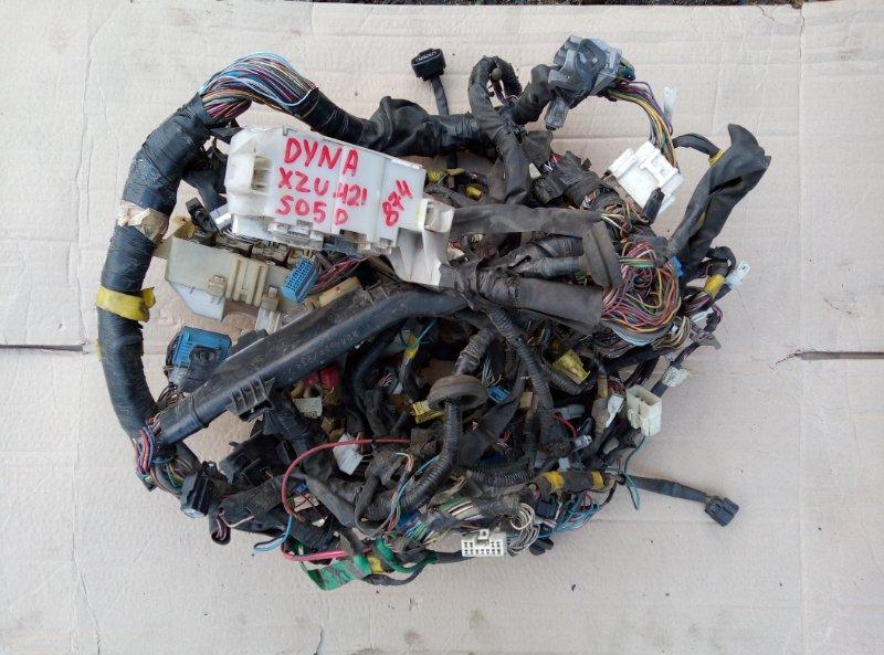 Проводка кабины Toyota Dyna XZU421 S05D 2001