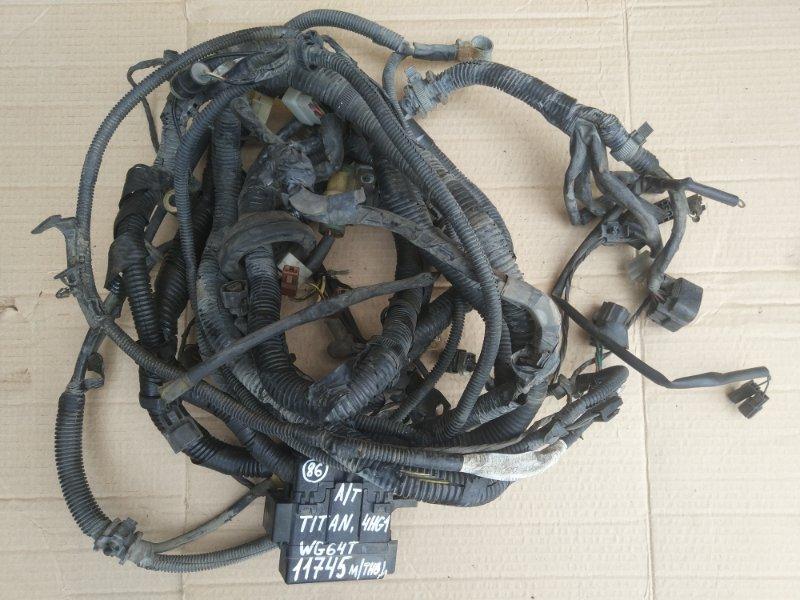 Проводка (коса) моторного отсека Mazda Titan WG64T 4HG1 1998
