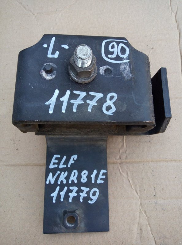 Подушка двигателя Isuzu Elf NKR81E 4HL1 2006 передняя левая