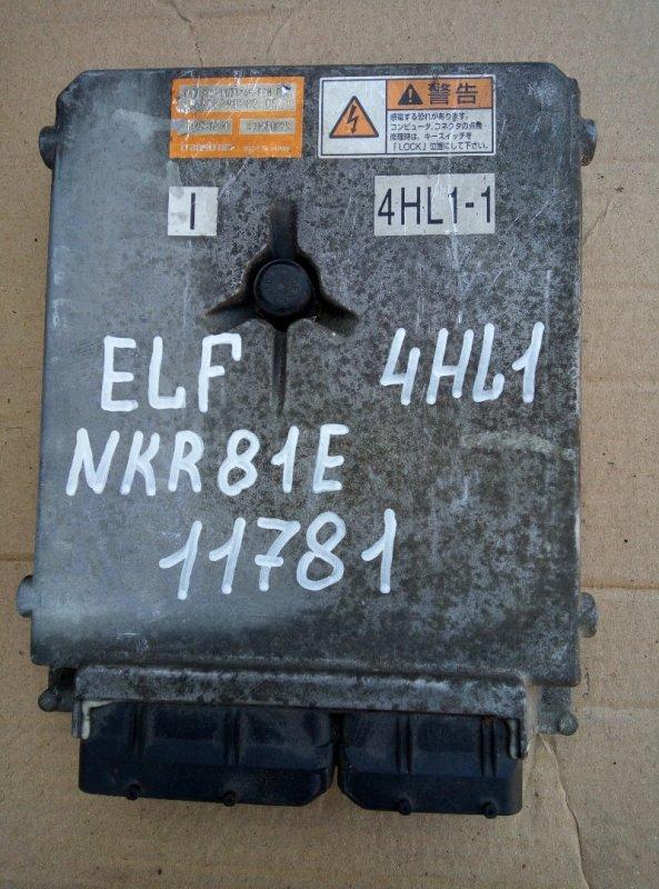 Блок управления двс (компьютер) Isuzu Elf NKR81E 4HL1