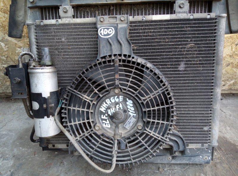 Радиатор кондиционера Isuzu Elf NKR66ED 4HF1 2001