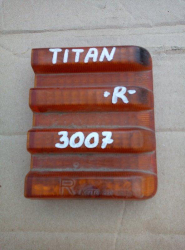 Стекло Mazda Titan WGEAT TF заднее правое верхнее