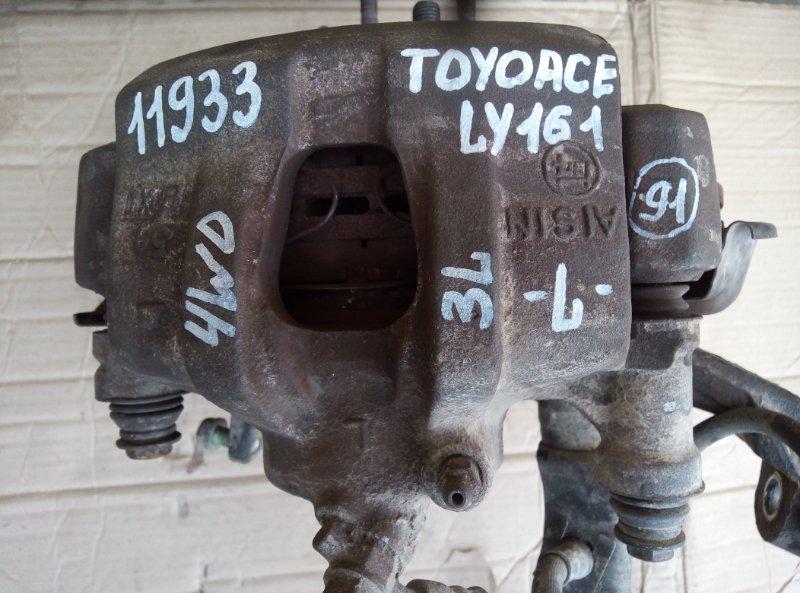 Тормозной суппорт Toyota Toyoace LY161 3L 1998 левый