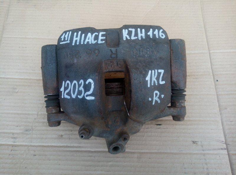 Тормозной суппорт Toyota Hiace KZH116 1KZ 1999 правый