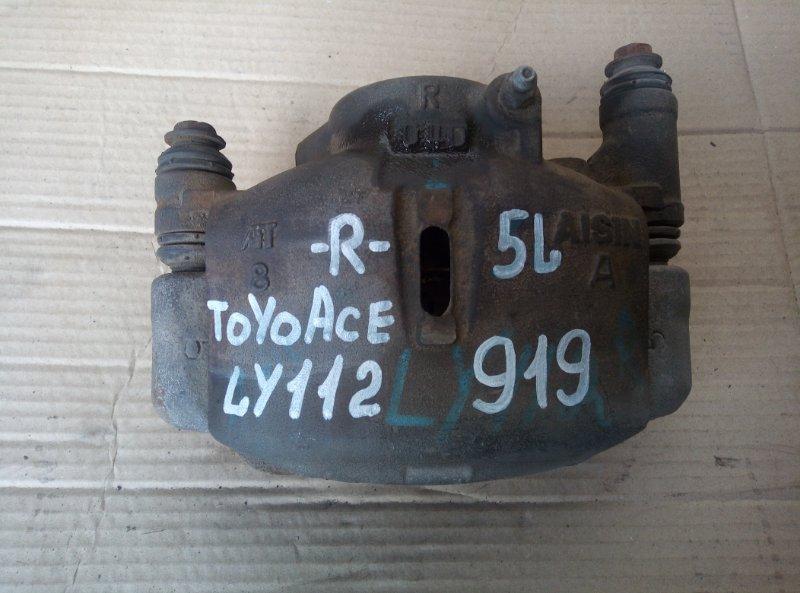 Тормозной суппорт Toyota Toyoace LY112 5L передний правый